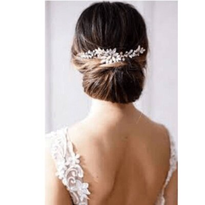 bridal hair-wedding