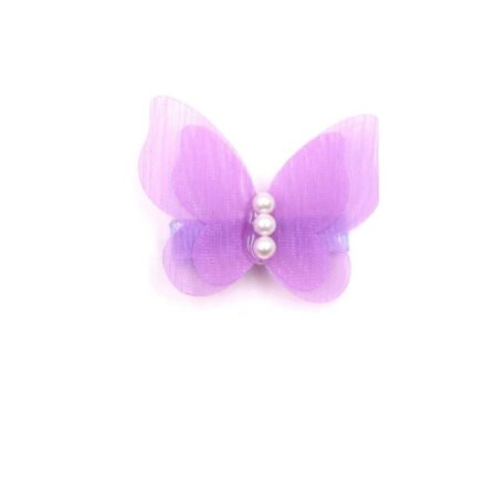 butterfly-purlpe-clip-hair-girl