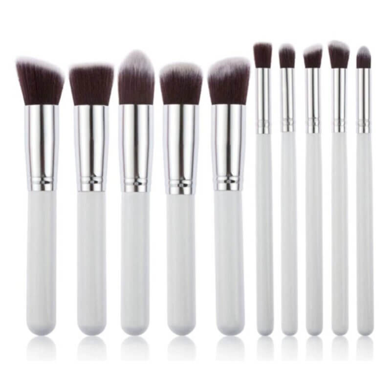 set-10-pics-brushes-make-up-white