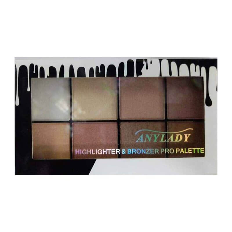 Anylady-lady-palette-highlighter-bronzer