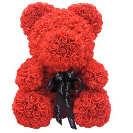 love-rose-bear-red