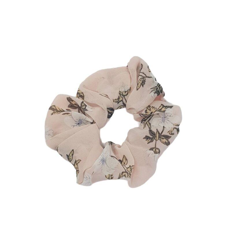 scrunchies-flower-hair-headband