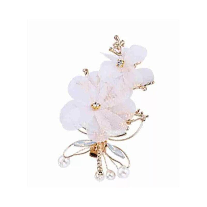 bridal-flower-white-clip-gold
